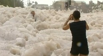 Foam Flood in Queensland
