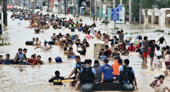 Thousands Displaced by Floods in Philippines