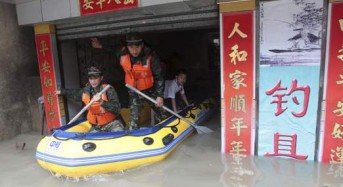 More Floods in China