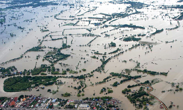 mekong river floods in cambodia and laos  updated