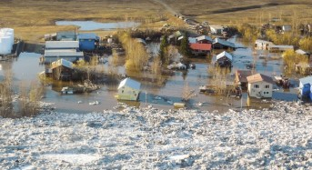 Floods in Galena, Alaska