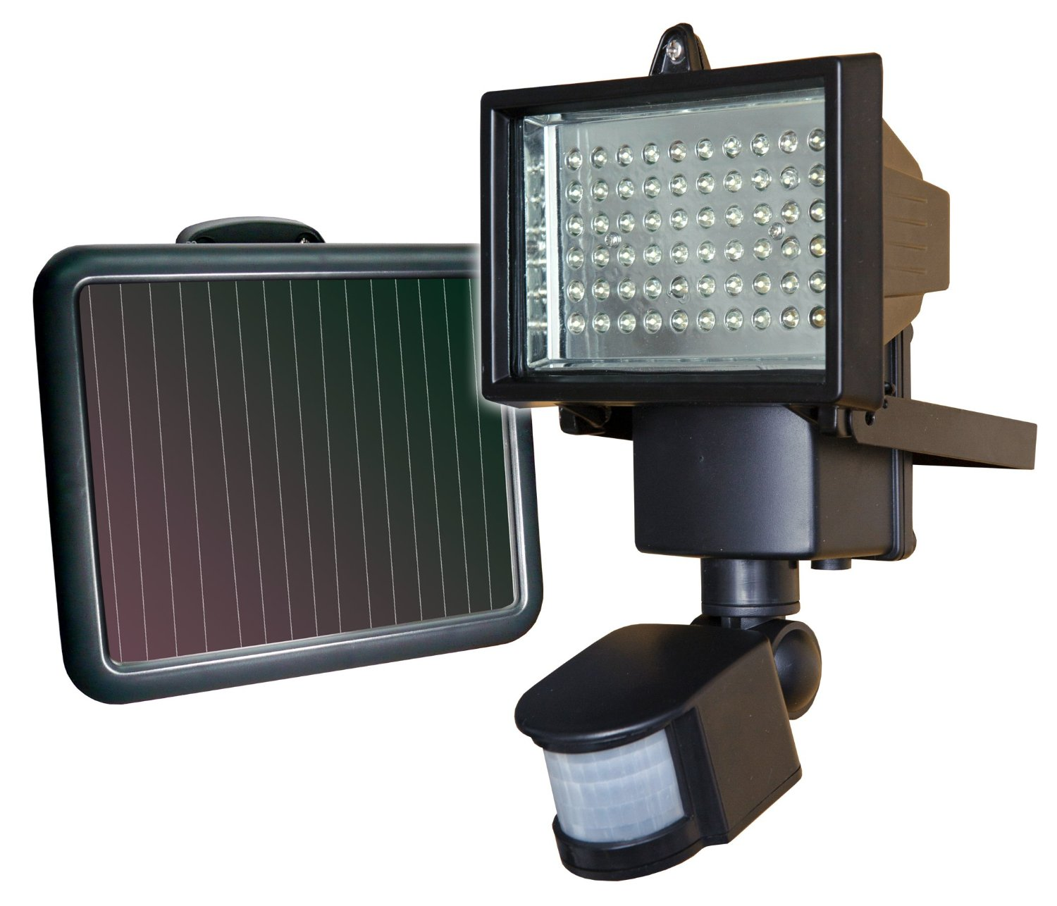 Porch Light Without Electricity: Solar Powered Flood Lights And LED Floods