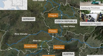 Floods in Central Europe June 2013
