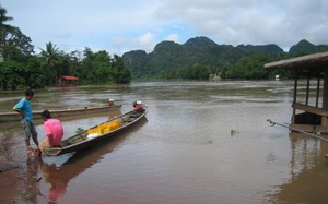 Laos Floods June 2013