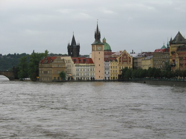 Floods in Prague 2002