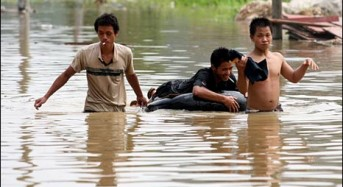 Floods in China as Rumbia Hits