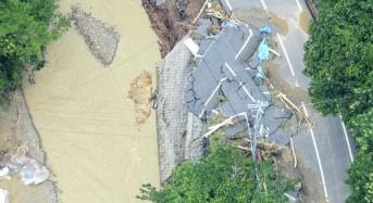 Floods in Japan, July 2013