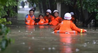 Soulik Floods China and Taiwan