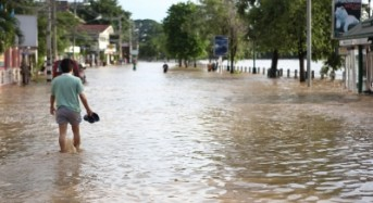 Flood Warning for Eastern Thailand