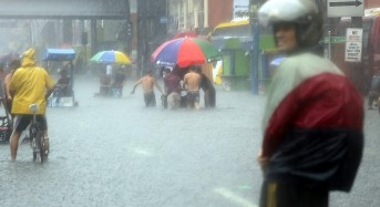 Half of Manila Under Water