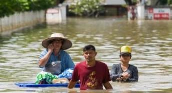 South Thailand Floods Begin to Recede