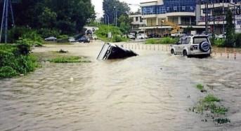 Flash Floods in Sabah, Malaysia
