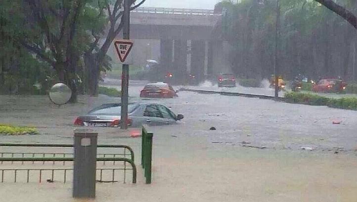 floods singapore