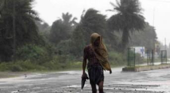 Cyclone Helen, India