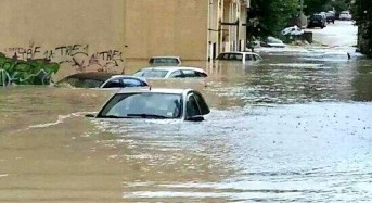 Italy – Floods in Calabria After 200mm of Rain in 24 Hours, 500 Evacuated