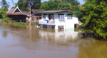 Flooding Hits Southern Thailand