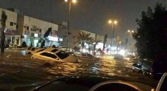 Flooding in Riyadh