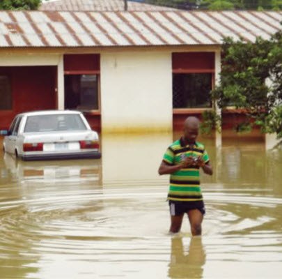 Floods in Uyo Nigeria