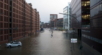 Tidal Surge Floods in Northern Europe