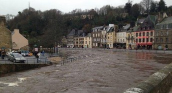Storms and Floods in North West France