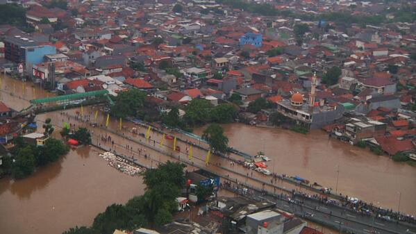Floods and forced evictions in Jakarta