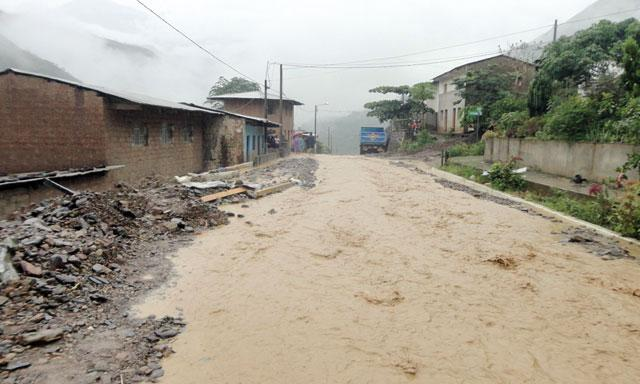 Floods in La Convencion, Peru