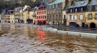 More Flooding in Brittany, France