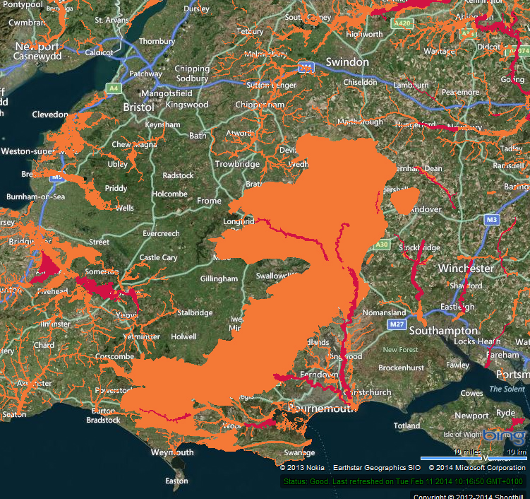 Flooding England Map.River Thames Levels Threaten Floods In South East England Floodlist