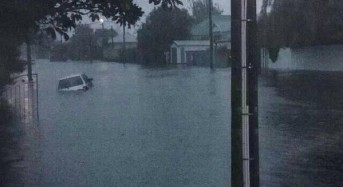 A Month's Rain in 24 Hours Floods Christchurch