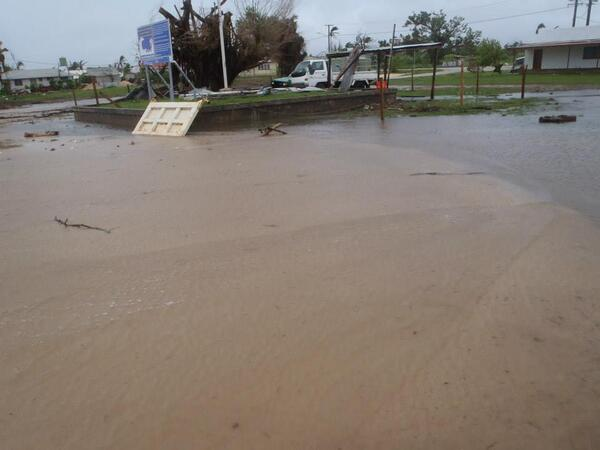 Tonga after Cyclone Kofi - Photo TeenaBrownPulu @ Twitter