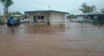 Floods Hit Remote Town in Queensland, Australia
