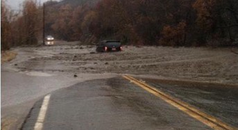 1000s Evacuated in Storm and Floods, California