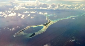 High Tide and Storm Surge Floods Marshall Islands