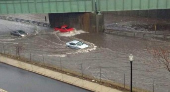 Storms Bring Floods to North East USA