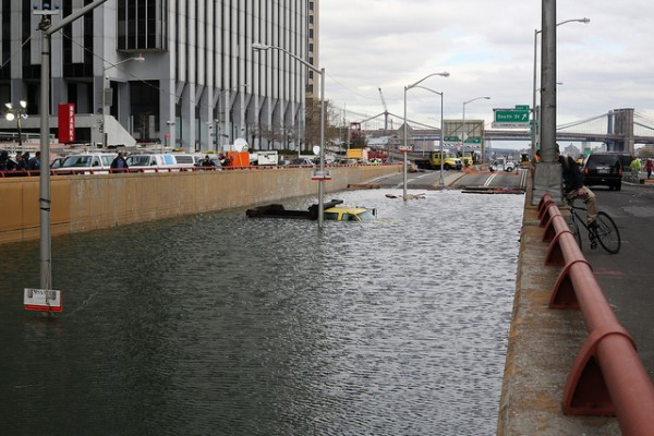 battery park tunnel flood