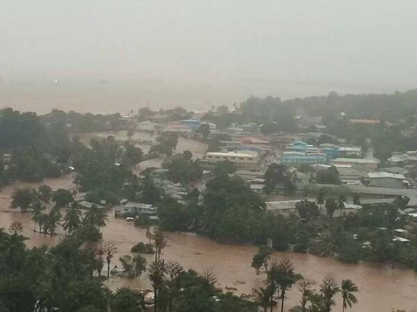 honiara floods
