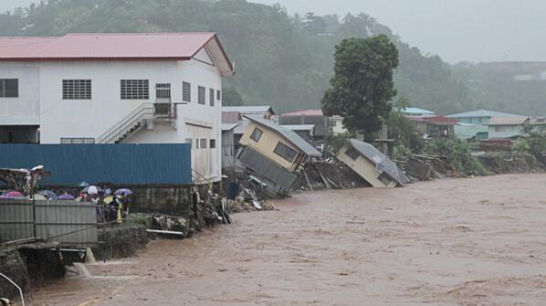 solomon islands floods disaster