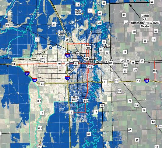 Fargo Moorhead Flood Diversion Project  FloodList