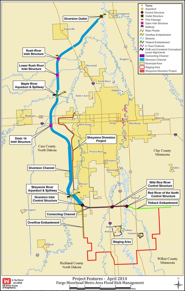 Map Fargo bnhspinecom