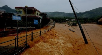19 Dead, 7 Missing After Floods in Southern China