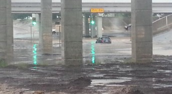 Thunderstorm and Flash Floods in Houston, Texas