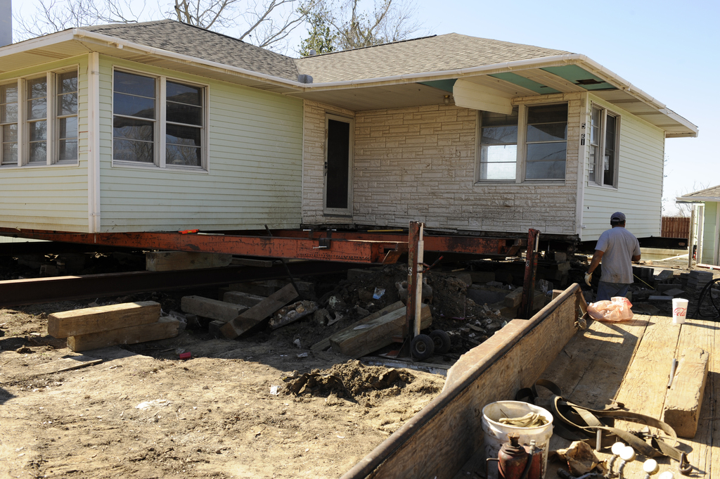 Elevation of buildings in flood prone locations floodlist for Build a house in texas