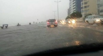 Winter Storms Bring Flooding to Cape Town
