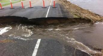 Floods in Saskatchewan and Manitoba after 175 mm Rain