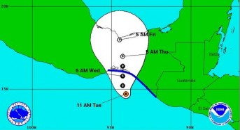 5 Dead in Guatemala as Tropical Storm Threatens Mexico