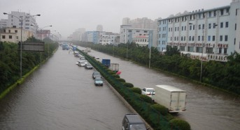 China – Thousands Evacuate Floods in Guangzhou