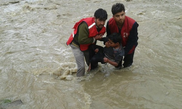 Photo: IFRC. Indian Red Cross in Srinagar