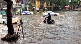 Bangkok Floods After 175 Mm of Rain in 24 Hours