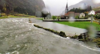 100s Evacuated After Major Flooding in Western Norway