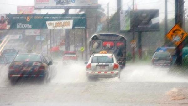 Heavy rain in Nicaragua